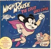 MIGHTY MOUSE GREAT SPACE CHASE DVD
