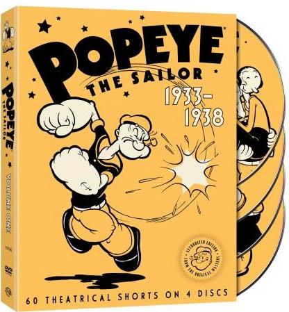 popeye max fleischer vol 1 cartoon dvd