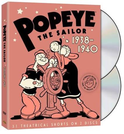 popeye max fleischer vol 2 cartoon dvd