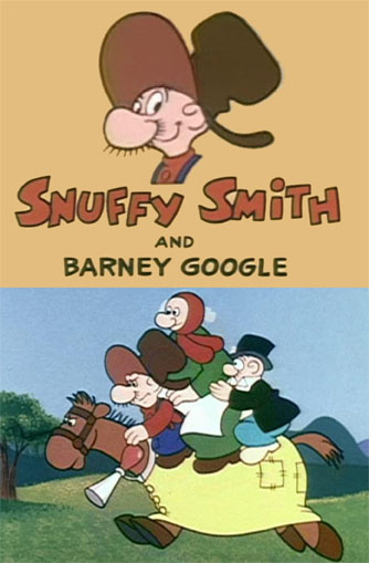 snuffy smith barney google DVD king features synidicate