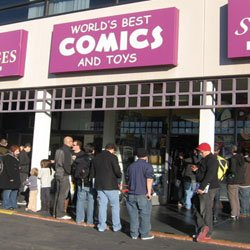 Sam Kieth signing at WORLD'S BEST COMICS AND TOYS, 1/12/2013
