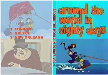 around the world 80 days cartoon dvd
