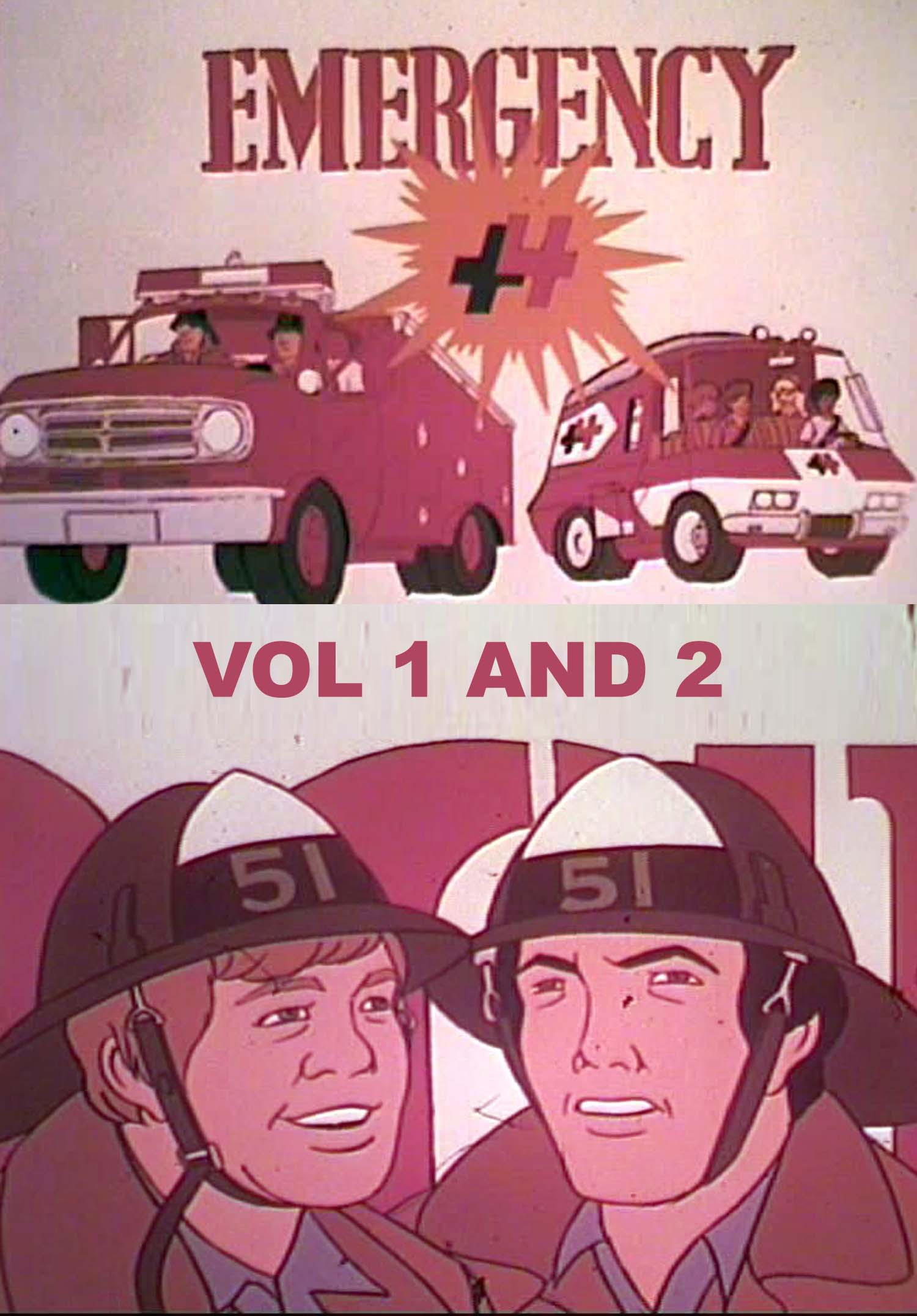 EMERGENCY PLUS +4 4 DVD SET
