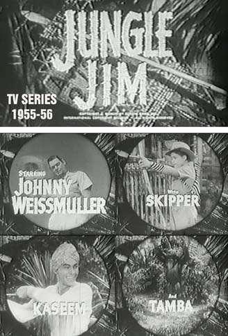 jungle jim tv series 1955 1956 Johnny Weissmuller