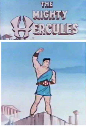 Mighty Hercules DVD set